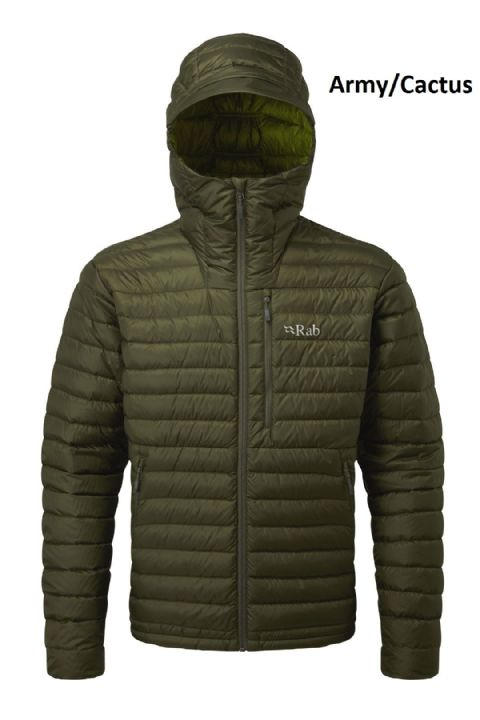 Rab Mens Microlight Alpine Down Jacket - Warm - Lightweight